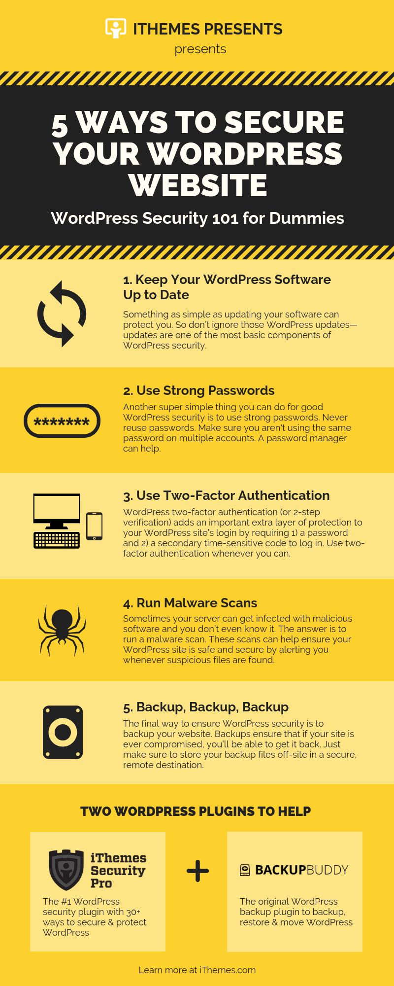 5 Ways to Secure Your WordPress Website